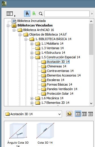 ...colocar cotas en 3D  (Acotación en 3d) en Archicad 16? 0327