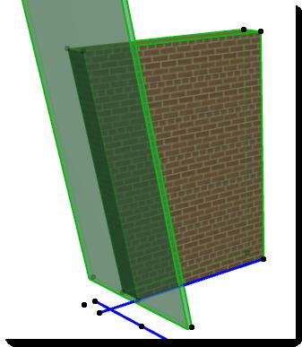 ... cortar muros con planos inclinados ? 0614