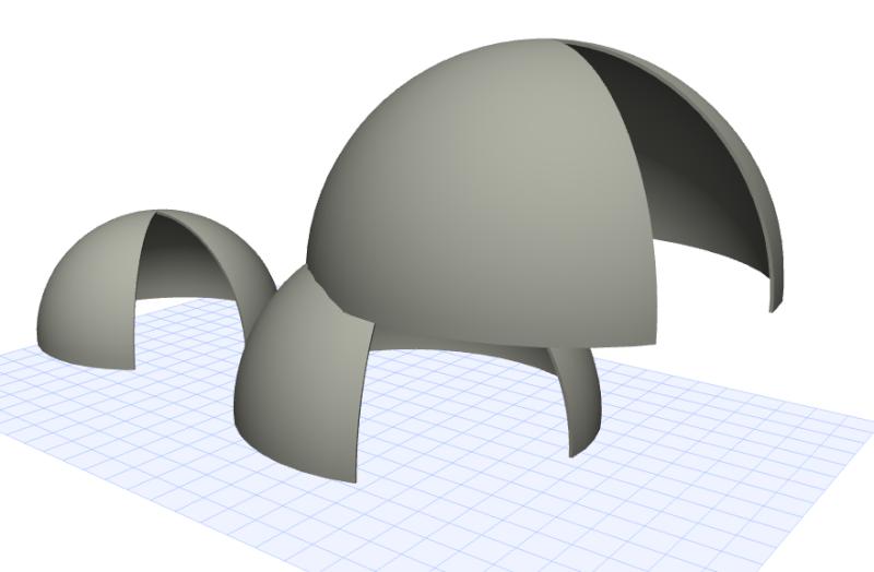 .... crear una cúpula en Archicad 16? 1310