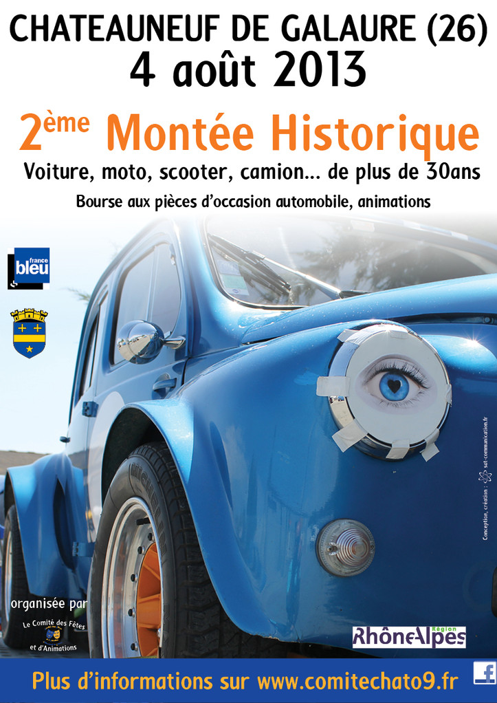 2eme course de cote historique de chateauneuf de galaure  Image12