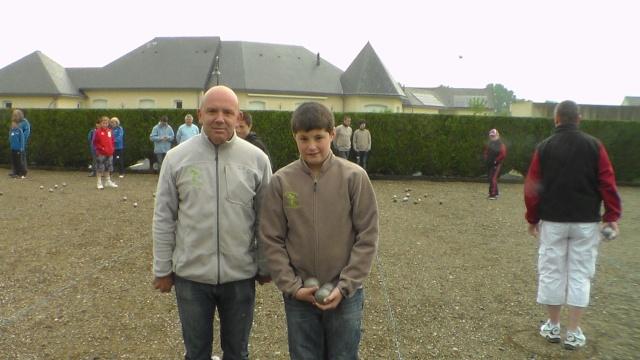 Trophée 1 Jeune et 1 Adulte à Gennes sur Glaize Sam_5119