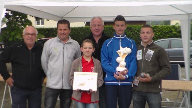 Trophée 1 Jeune et 1 Adulte à Gennes sur Glaize Sam_5212