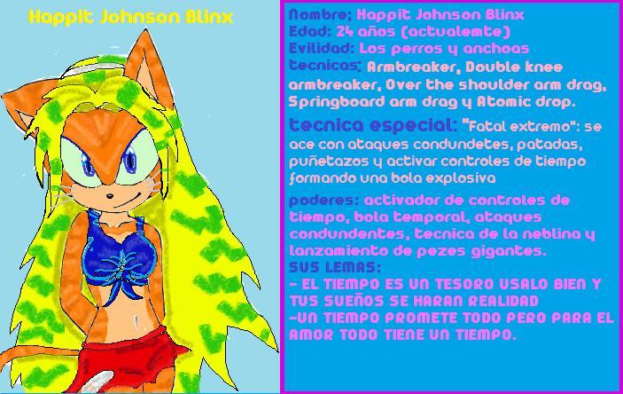 Caretix Otonashi/ Happit Johnson the hedgehogs Happit10