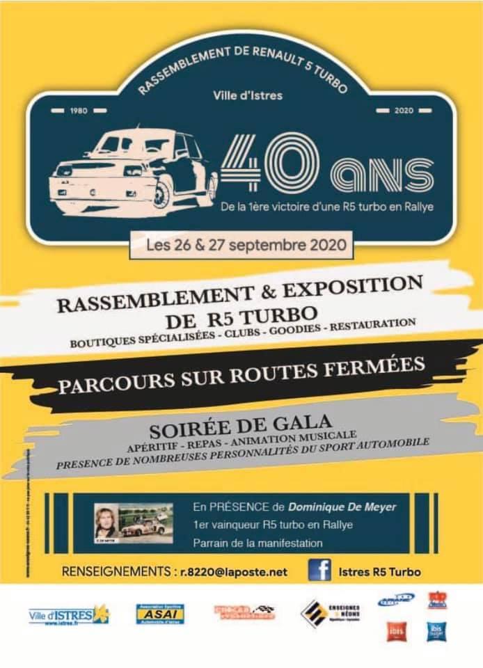 Les 40 ans de la R5 Turbo  85253610
