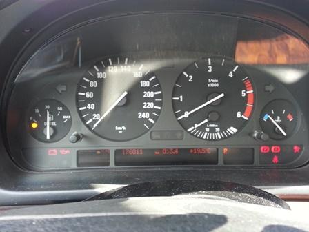[BMW 530 d E39] Voyant de préchauffage 20130513