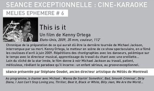 Paris: This Is It au cinéma le 8 juin 2013 Cinema10