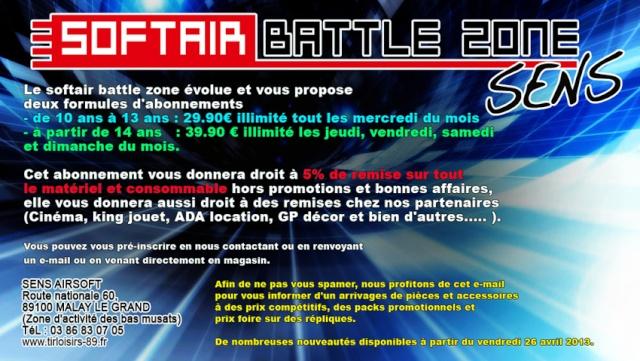 Ouverture du premier Softair Battle Zone en France à Sens Imagep10