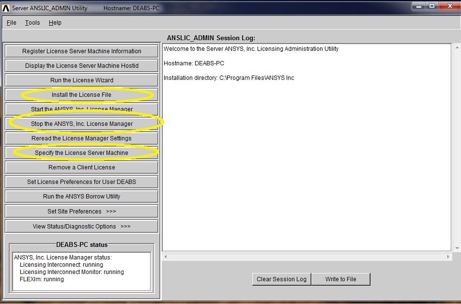 حل مشكلة License فى برنامج الأنسيز Ans10
