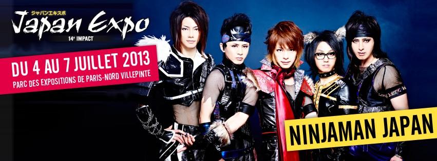 JAPAN EXPO 14ème édition - 4 au 7 juillet 2013  Affich11