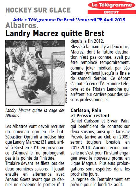 Articles Sur Les Albatros 2013 - 2014 Articl15