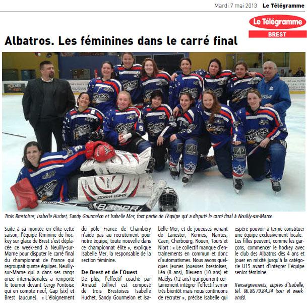 Articles Sur Les Albatros 2013 - 2014 Articl23