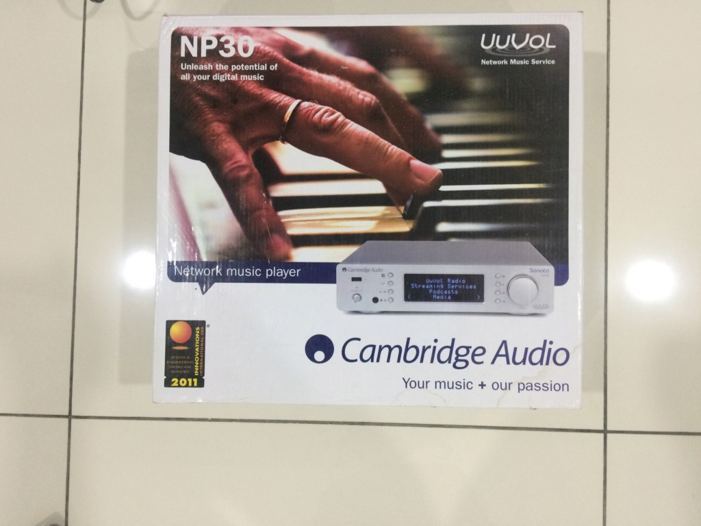 Cambridge Audio NP30 Network Music Player (***Analog Output not working ***) Image_23