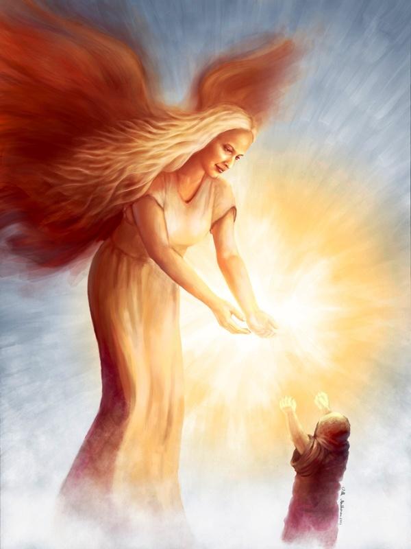 Travailler avec les anges Angede10