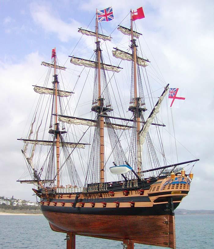 Frégate HMS Serapis 1779 par AMIRAL 13 Serapi10