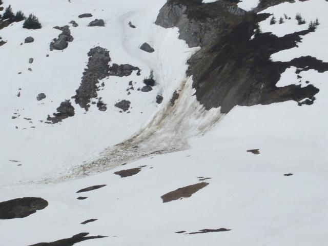 Vos photos et vidéos d'avalanches dans le massif Dscf4924