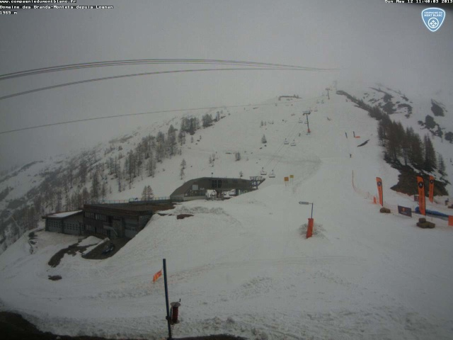 Fermeture domaines skiables, fin de saison d' hiver  Grands10