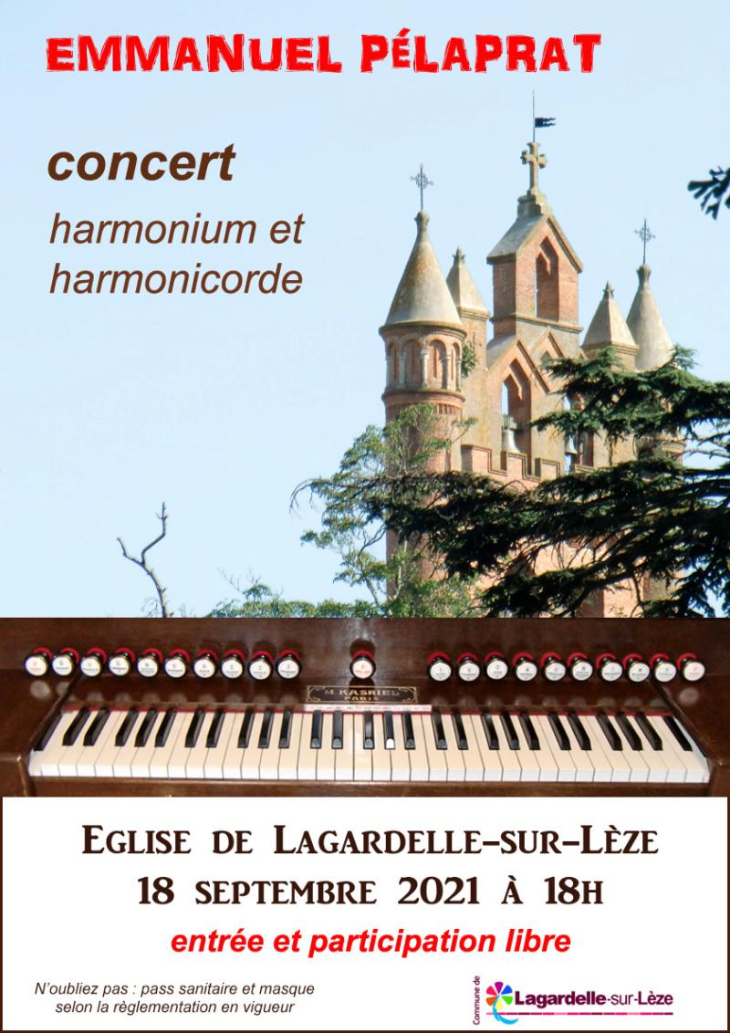 Concert harmonium et harmonicorde Affich10