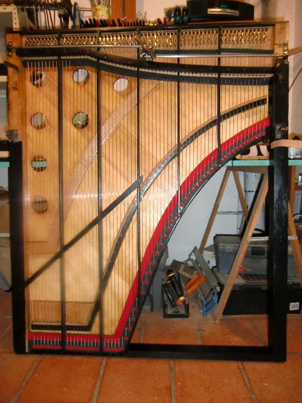 Restauration d'un harmonicorde Debain de 1863  Cimg5024