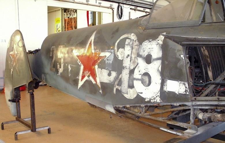 Le Yak-3 du MAE Y410