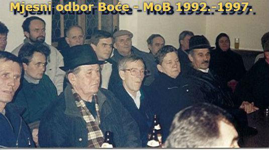 MOB-e (Mjesni odbor Boće) 1992.-1997. (II dio) 4610
