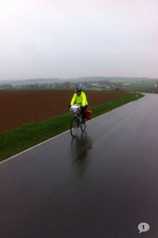 IDEM SVOJOJ KUĆI! - Biciklom 1400 km,  Frankfurt(Darmstadt)-Brčko 92283810
