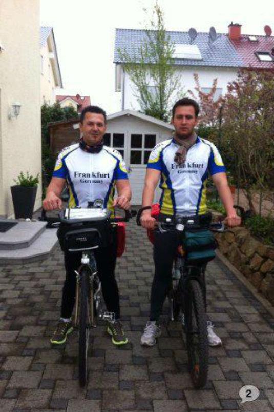 IDEM SVOJOJ KUĆI! - Biciklom 1400 km,  Frankfurt(Darmstadt)-Brčko 93612310