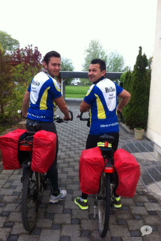IDEM SVOJOJ KUĆI! - Biciklom 1400 km,  Frankfurt(Darmstadt)-Brčko 94108510