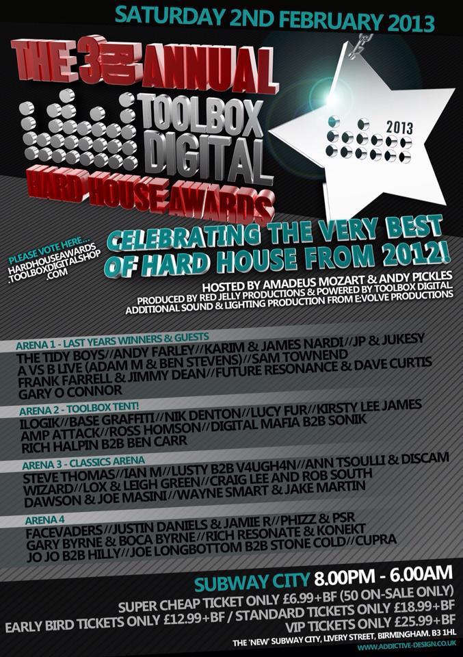Wizard @ The Hardhouse Awards - Birmingham - Feb 2013 Awards10