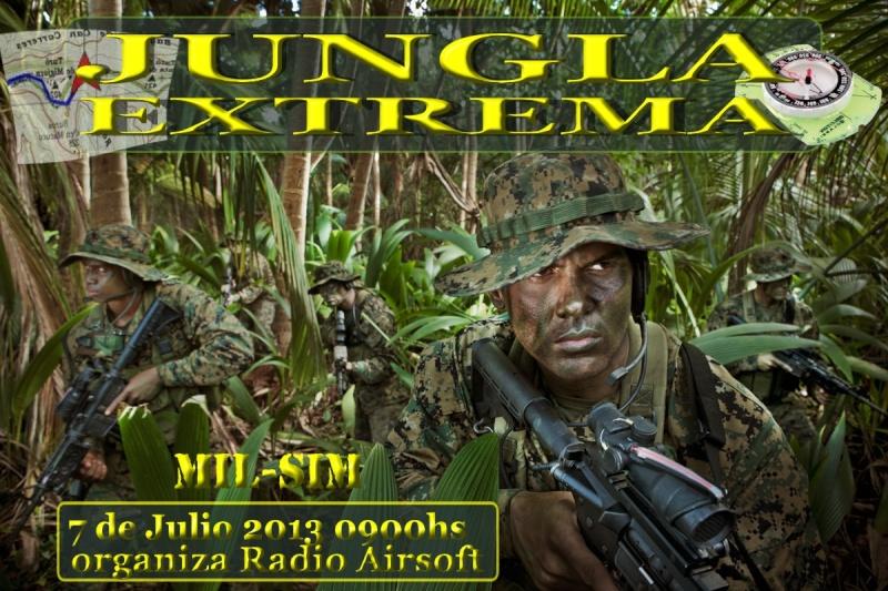 """PARTIDA ABIERTA """"JUNGLA EXTREMA"""" 7 DE JULIO 2013 MOD MIL-SIM DE 0900HS A 1700HS Jungla11"""
