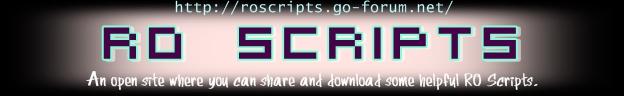 Ragnarok Online Scripts