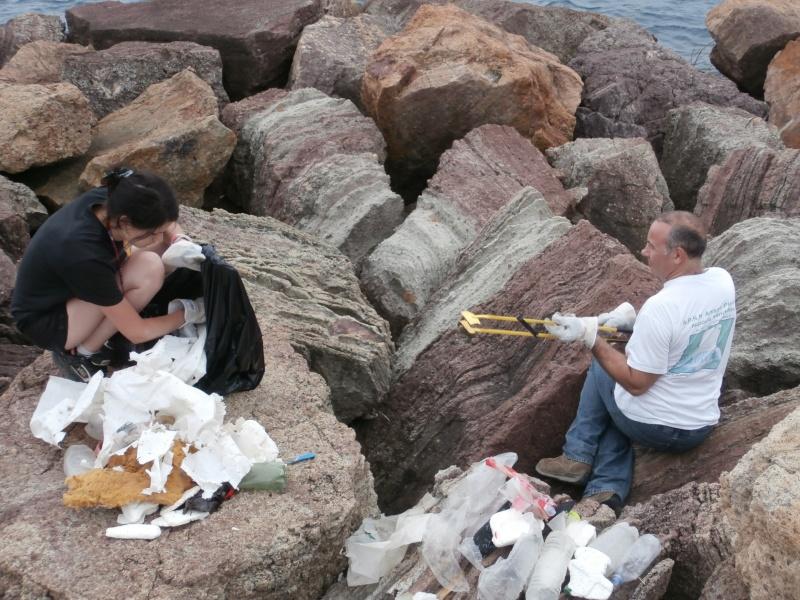 Journées de la mer : opération nettoyage du littoral le 8 juin P6080014