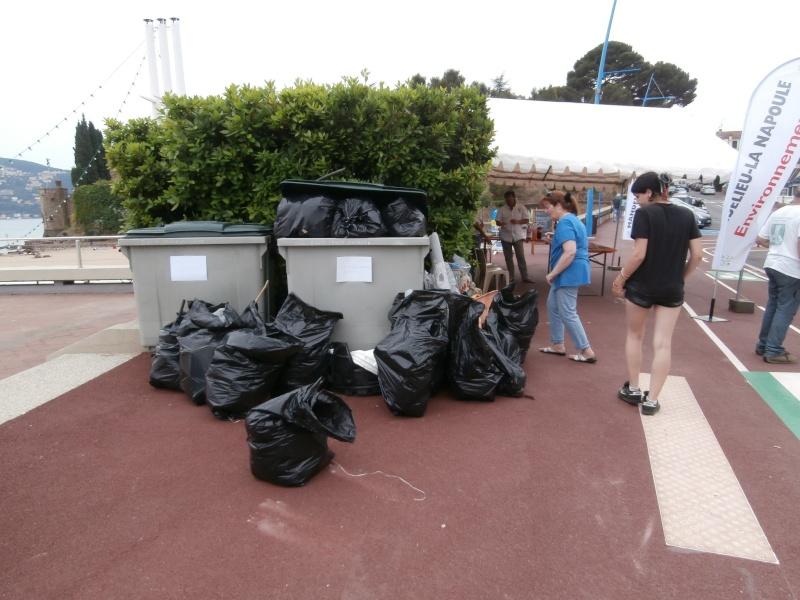 Journées de la mer : opération nettoyage du littoral le 8 juin P6080016