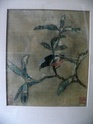 silk painting chinese? with 3 red stamped signatures P1230365