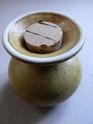 salt shaker - Hiisi design, Pentik Pottery, Finland  P1230513