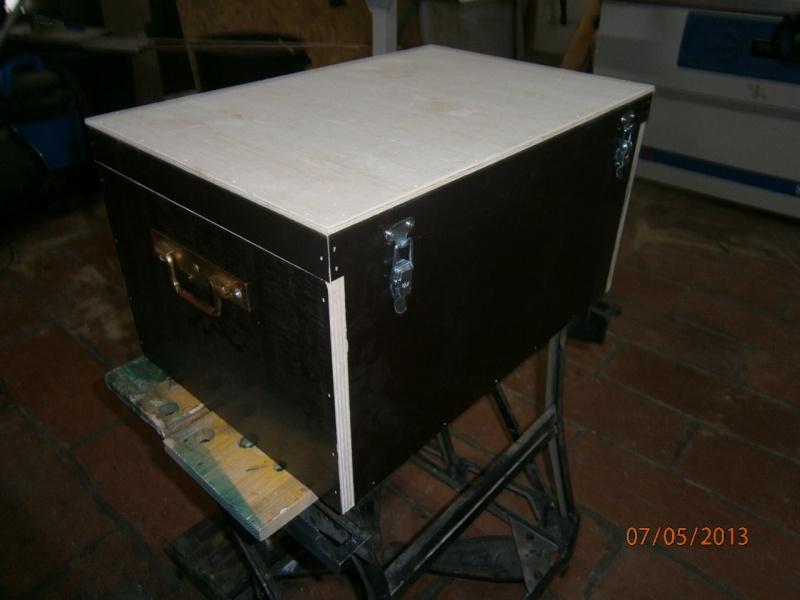 Fabrication coffrets de rangement pour accessoires Festool P5070110