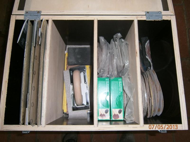 Fabrication coffrets de rangement pour accessoires Festool P5070111