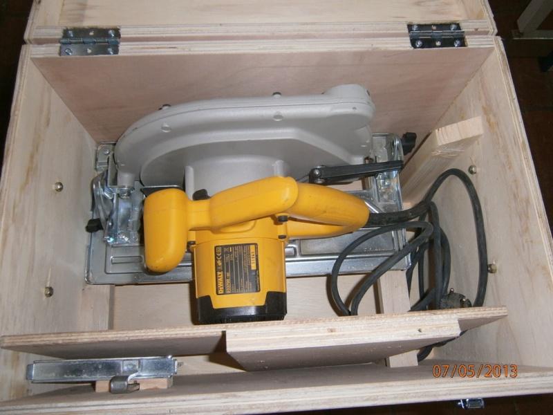 Fabrication coffrets de rangement pour accessoires Festool P5070114