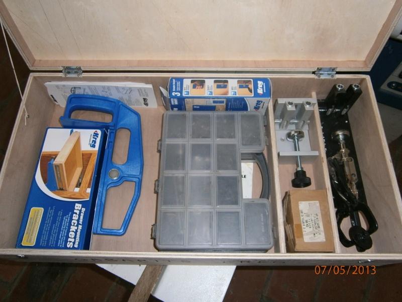 Fabrication coffrets de rangement pour accessoires Festool P5070124