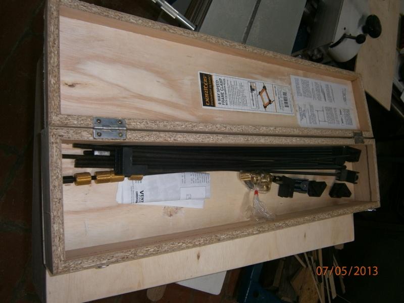 Fabrication coffrets de rangement pour accessoires Festool P5070127