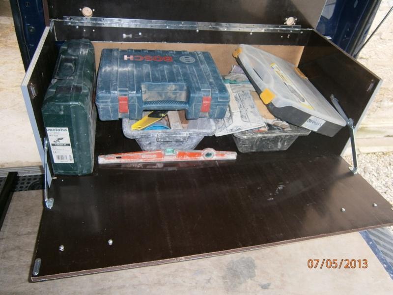 Fabrication coffrets de rangement pour accessoires Festool P5070134