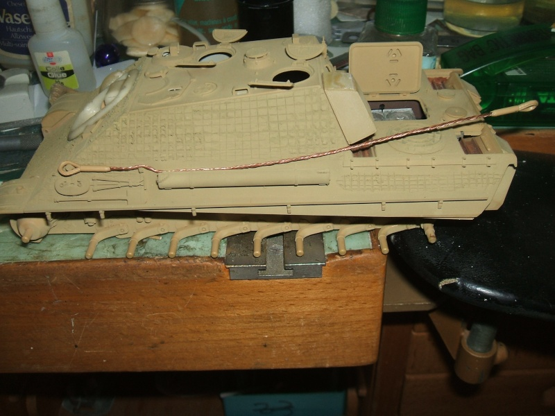 Jagdpanther Tamiya 1/35 Dscf0923