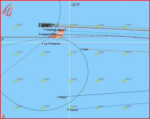 La 1421-2 l'hémisphère sud  Captur70