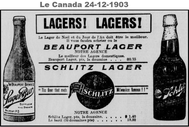 Cherche infos sur cette bouteille de la Beauport Brewing Co. Beaupo19