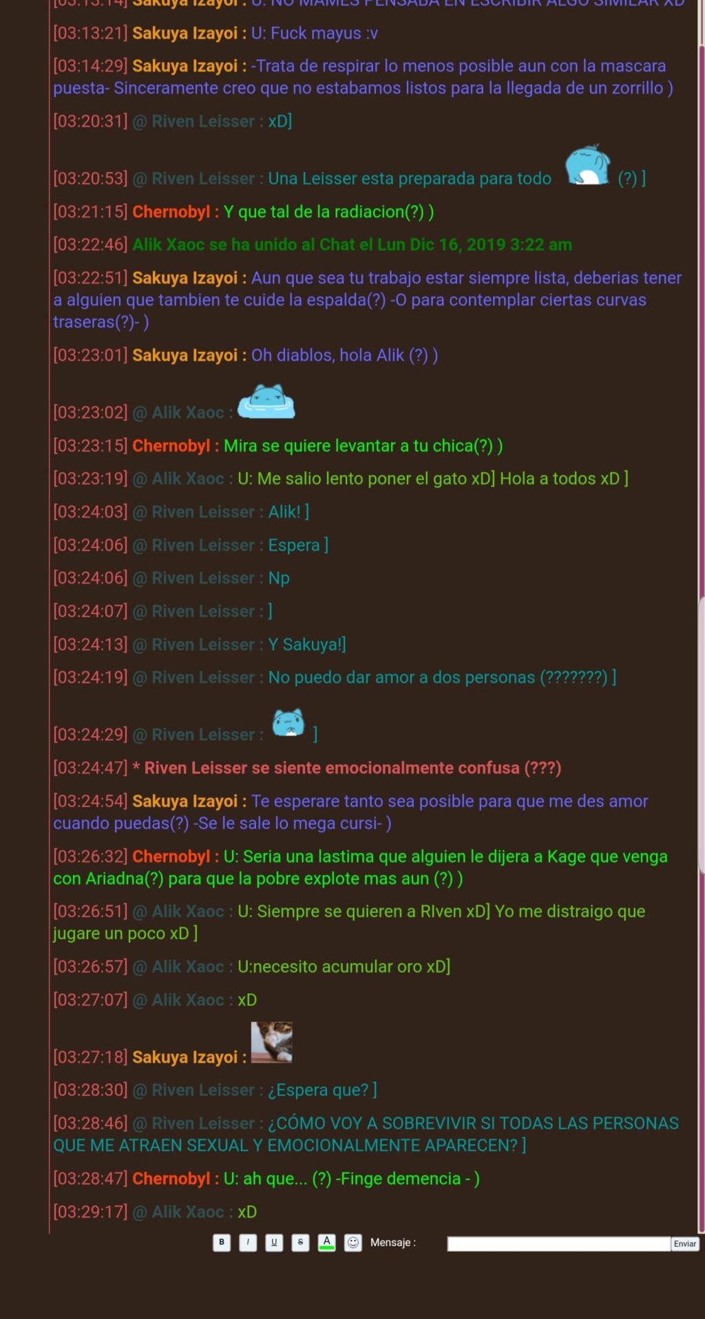 Random por el chat 20191213