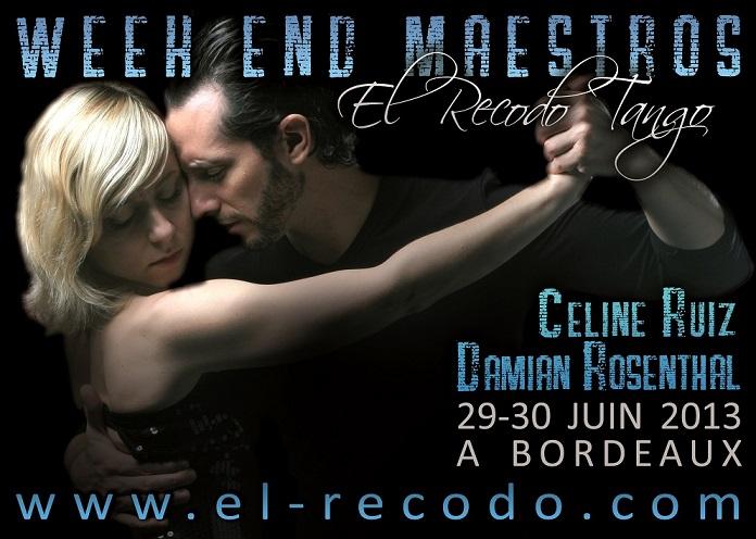 Week End El Recodo Tango - Damian Rosenthal & Céline Ruiz M24mai10