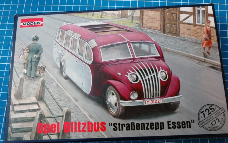 """Opel Blitzbus """"Strassenzeppelin Essen"""" 1/72 Roden 112"""