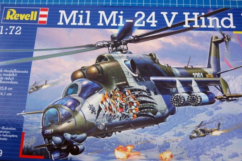 Revell 1/72 Mil Mi 24 V Hind E  Cov10