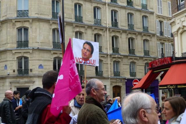 Vive la vraie France ! Manif211