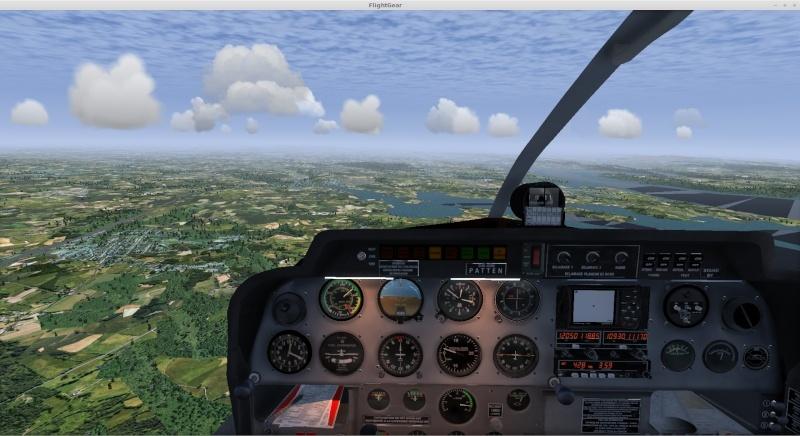 Vol à vue ( et à l'estime ) LFRU/LFRB/LFRQ Captur25