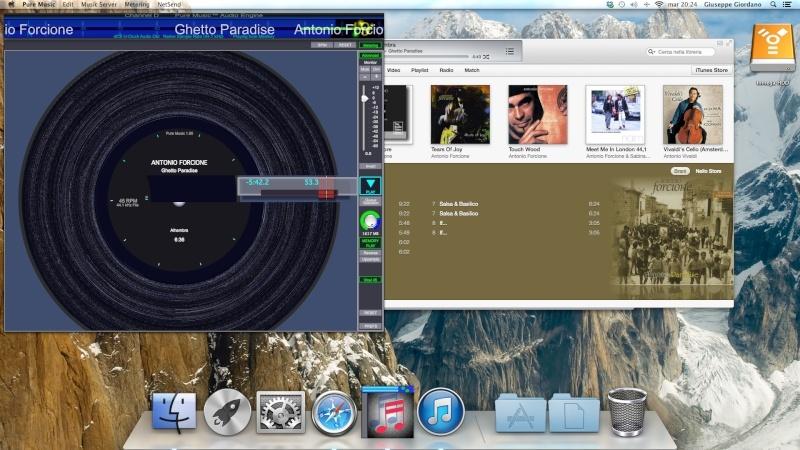 un LP dentro il mac  Scherm20